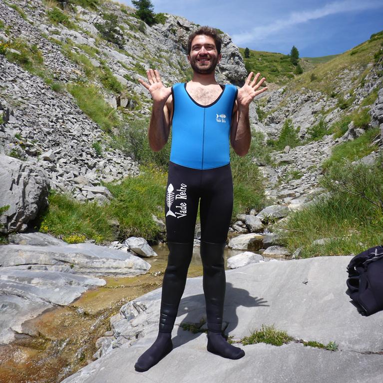 découverte du canyon en Ariège dans les Pyrénées