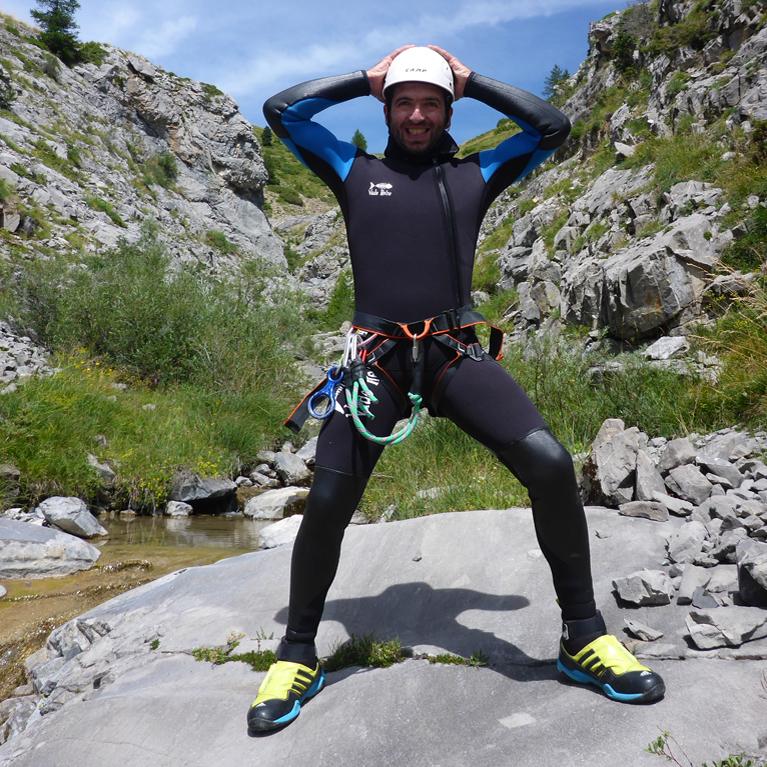 découverte du canyoning en Ariège dans les Pyrénées