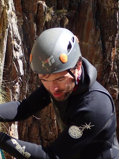 Antoine Sennepin guide de canyon spéléologie et randonnée
