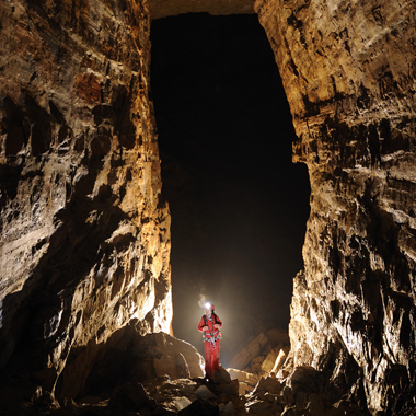 randonnée souterrainne