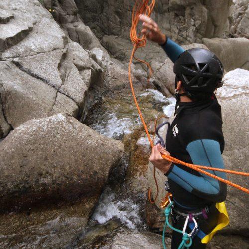canyoning Ariège pyrénées